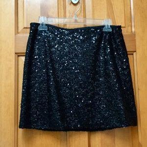 NWT J. Crew Sequin Skirt